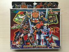 Five in One Super Liveman Transforming Robot Toys Vintage KO in Box Japanese