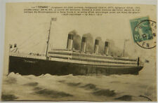 TITANIC POSTCARD SENT TWO WEEKS AFTER SINKING 1912