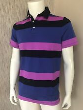 Ralph Lauren RLX Golf Short Sleeve Block Stripe Polo Shirt Size Small