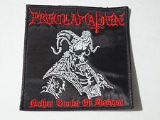 PROCLAMATION BLACK/DEATH METAL EMBROIDERED PATCH