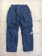 "FRANK THOMAS Ladies Textile Motorcycle Trousers UK 12    30"" to 32"" Waist CBox"