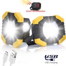 50W Recargable LED Cob Trabajo Luz Camping Seguridad Foco Emergencia Lámpara