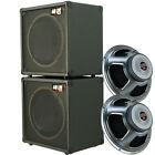 1x12 Guitar Speaker Cabinets stack of 2, W/16 Ohm CELESTION Seventy 80 speaker