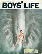 1969 BSA Boys' Life Magazine August 1969 Water Skiing Frankie Dees Issue