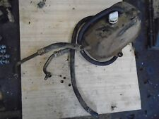 Dinli quadzilla 450 2012 Engine oil tank and pipes breaking quad