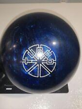 TURBO Original Ebonite Blue Pearl Urethane Used 16lb Bowling Ball
