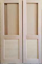 Solid Timber Double Doors (vic ash)