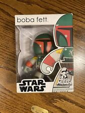 2007 Star Wars Mighty Muggs Sealed Boba Fett Vinyl Action Figure Pop Funko