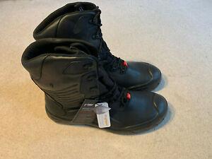 Englebert Strauss Apodis High men's safety work boots   black   size 14.5   new