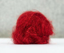 10g Angelina Fibre Red Non Heat Bondable Crafts Fusible Felting Dreads