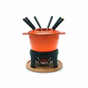 Swissmar Sierra 3-in-1 Fondue Set - Orange