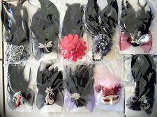 Wholesale Bulk Wedding Races Carnival Fascinator Mixs Clips Pins Brooch 100XPCS