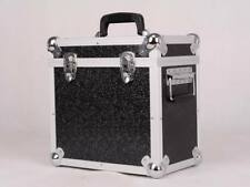 "LP50 x 12"" Vinyl Record Box Storage Flight DJ Case Stackable Media BLACK"