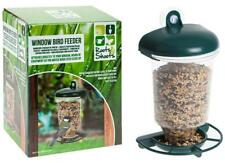 Plastic Wild Bird Clear Window Seed Feeder With Hanging Suction Cup Feed Tray