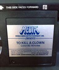 To Kill A Clown (BETAMAX) MEDIA (1983) Alan Alda *RARE* (NOT VHS) Horror Cult