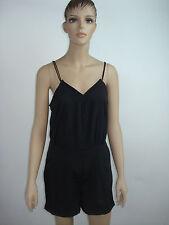 542986d7701b Bongo Juniors Romper One Piece Dressy Solid Black Shorts Sleeveless Pockets