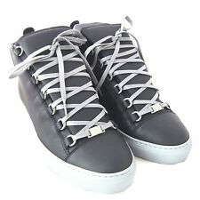 L-3867258 New Balenciaga Ombre Arena High-Top Black Sneaker Shoe US 7 Marked 40
