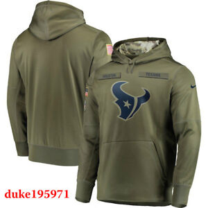 Nike Houston Texans 2018 Mens NFL Salute to Service Therma STS Hoodie XL