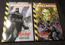 1999-01 BATMAN No Man's Land v.1 & 5 NM LOT of 2 Alex Maleev Greg Land