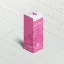 100% Puro Aceite Esencial de Geranio 10ml