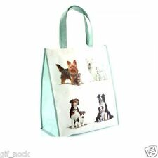 2 X Dogs and Puppies Shopping Bag 40cm x 35cm Shopping Bag