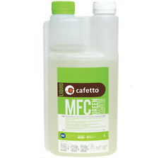 Cafetto mfc Organic Milk Frother Cleaner Liquid Descaler 1L 1 Litre- Green