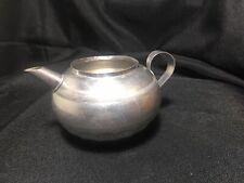 Vintage Child's Toy Aluminum Tea/Coffee Pot-fancy fluting & design