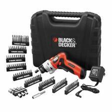BLACK+DECKER Avvitatore Elettrico 3.6 V Litio Valigetta 98 Accessori Trapano Svi