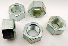 "(1) Zinc Plated 2-1/2-12 Hex Nut -12 Pitch 2-1/2"" Hot Formed Fine Thread"