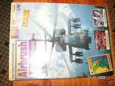 Airbrush Art +Action n°3/95 revue aerographe allemande