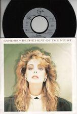 """SANDRA - Heat of the night  > 7"""" Vinyl Single"""