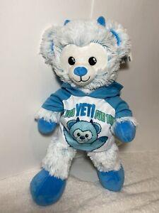 Build A Bear Snow Mondter Bear/Yeti Hoodie NWT