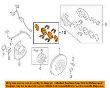 KIA OEM 2009 Borrego Brake-Front Pads 581012JA00