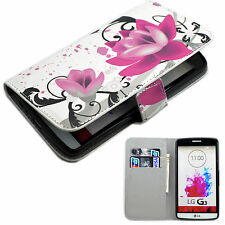 Leather Wallet Designs Cell Phone Protective Stand Case Cover Skin For LG G3