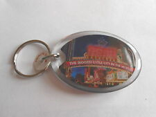 Vintage Reno NV The Biggest Little City in the World Plastic Souvenir Keychain