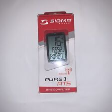 Sigma Pure 1 ATS Wireless Cycling Computer: Black/White