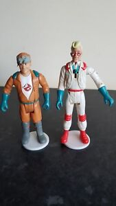 """Real Ghostbusters Vintage - Large WHITE Figure Display Stands 1.5"""" - Brand NEW!"""