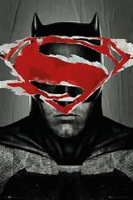24x36 Batman Vs Superman (Batman Teaser) Poster shrink wrapped
