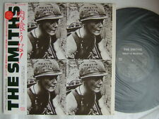 PROMO LABEL / THE SMITHS MEAT IS MURDER / WITH OBI