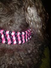 DOG COLLARS MANY COLORS, WIDE OR NARROW