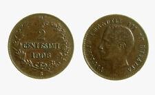 pcc2137_107) Vittorio Emanuele III  (1901-1943) 2 Centesimi  1906
