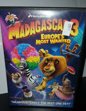 ** Madagascar 3: Europes Most Wanted (DVD, 2012, Canadian)