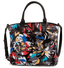 Vera Bradley Casual Satchel Splash Floral Shoulder Bag Purse Handbag Tote - $108