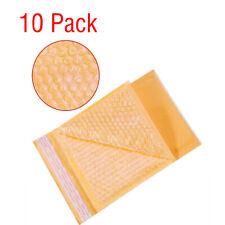 10 Pack 5x8in Anti-pressure Padded Paper Moistureproof Bubble Envelopes Bag