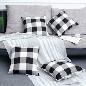 2pc Buffalo Plaid pillows/ outdoor Pillow cover/ farmhouse throw cushion covers