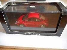 Minichamps VW Volkswagen New Beetle in Red on 1:43 in Box