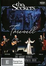 THE SEEKERS - Farewell The Golden Jubilee Australian DVD - Region free