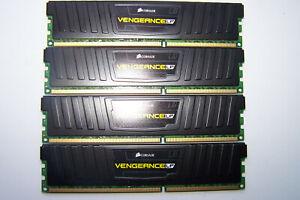 32GB Vengeance LP (4x8GB) 1600MHz DDR3 Gaming Ram Corsair