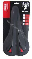 WTB Pure Race Mountain Bike MTB Saddle Black Unisex Seat Cromoly Rails