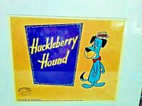 Huckleberry Hound 1958 Cel, Authenticated Stamp by Hanna Barbera